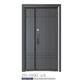 现代城市入户门ZN-8100金典